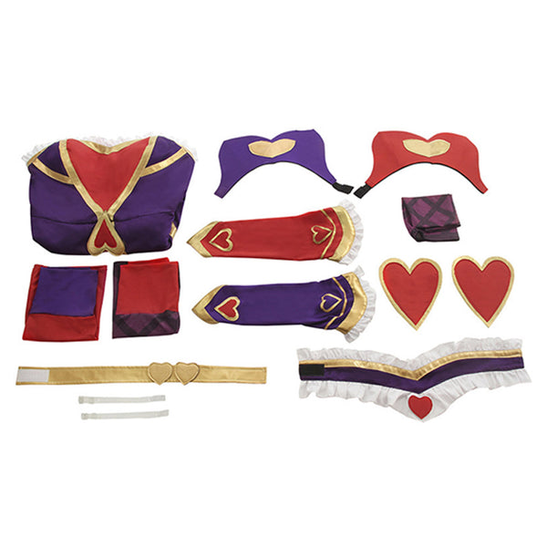 LOL League of Legends Jinx Suit Cosplay Costume