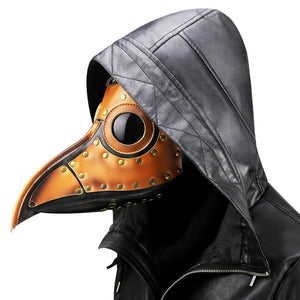 Plague Doctor Mask Long Nose Bird Steampunk Beak Mask Cosplay Props