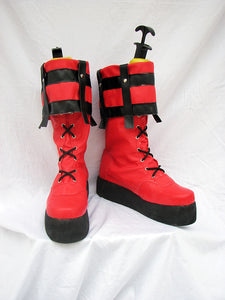 Guilty Gear Sol Badguy Cosplay Boots Custom Made