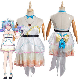 VOCALOID Hatsune Miku - Ai Kotoba Women Dress Outfits Halloween Carnival Suit Cosplay Costume