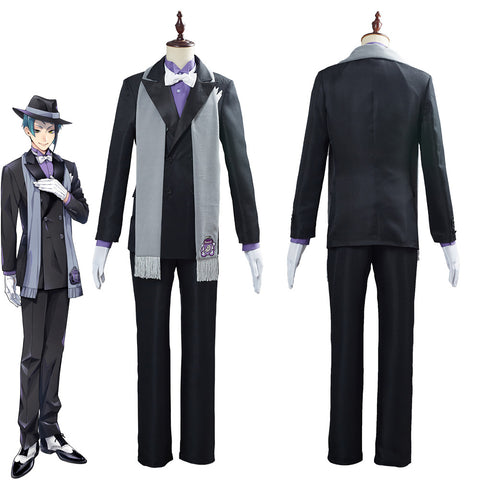 Game Twisted Wonderland Jade Leech Suit Cosplay Costume
