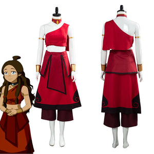 Avatar: the last Airbender Katara Women Dress Outfit Halloween Carnival Costume Cosplay Costume