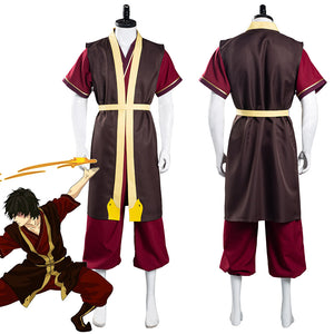Avatar: The Last Airbender Zuko Pants Vest Outfits Halloween Carnival Suit Cosplay Costume