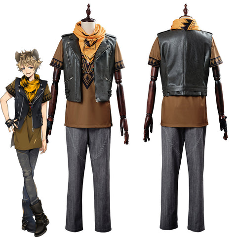 Game Twisted Wonderland Ruggie Bucchi Suit Cosplay Costume