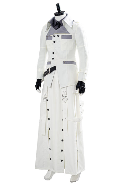 Final Fantasy VII Remake Rufus Shinra Halloween Shirt Coat Trousers Outfit Cosplay Costume