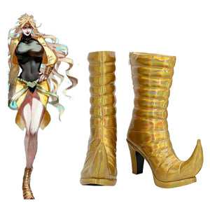JoJo's Bizarre Adventure Dio Brando Boots Halloween Costumes Accessory Cosplay Shoes