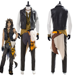 Twisted Wonderland Leona Kingscholar Halloween Outfit Cosplay Costume