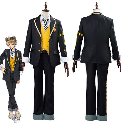 Twisted Wonderland Ruggie Bucchi Uniform Outfit Halloween Carnival Costume Cosplay Costume for Adult