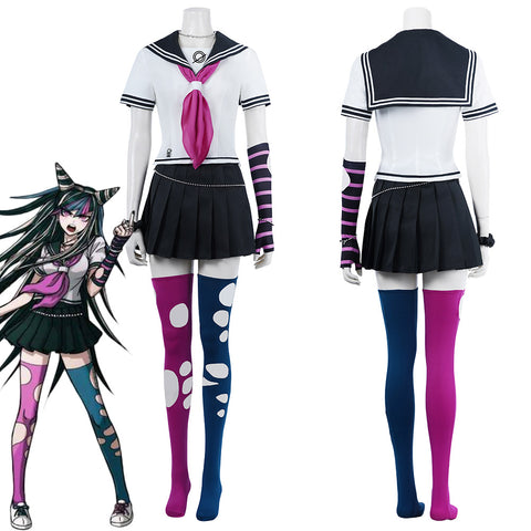 Super Danganronpa 2 Ibuki Mioda School Uniform Dress Outfits Halloween Carnival Suit Cosplay Costume