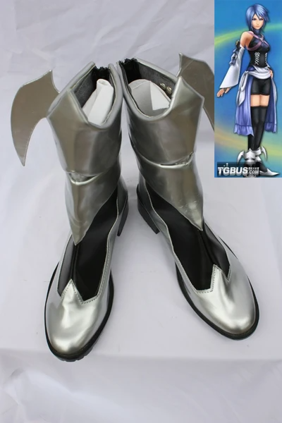 Kingdom Hearts Birth by Sleep Aqua Cosplay Boots Shoes