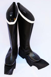 Black Golden Saw Cosplay Boots Shoes Custom Made