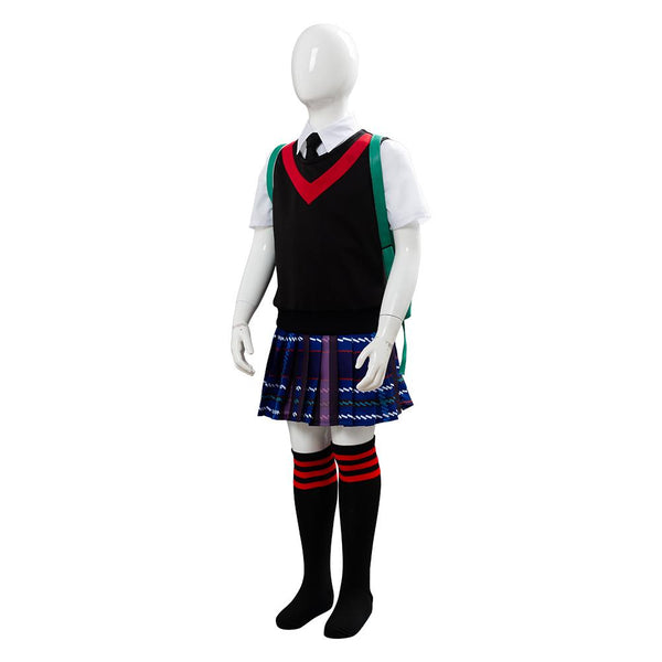 2019 Spider-Man: Into the Spider-Verse Peni Parker Cosplay Costume for Kids Little Girls