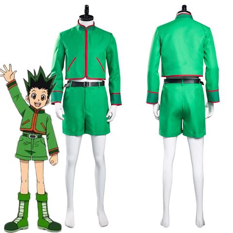 Hunter X Hunter GON·FREECSS Top Shorts Outfits Halloween Carnival Suit Cosplay Costume