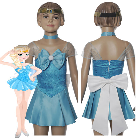 Elsa Dress Sailor Moon Change Cosplay Costume