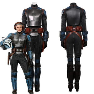 The Mandalorian S2 Bo-Katan Kryze Top Vest Pants Outfits Halloween Carnival Suit Cosplay Costume