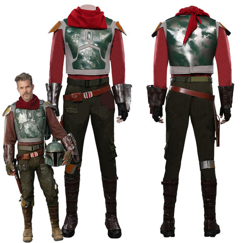 The Mandalorian S2 Cobb Vanth Top Pants Outfits Halloween Carnival Suit Cosplay Costume