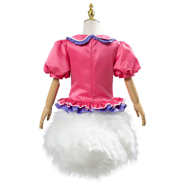 Daisy Duck Outfit Halloween Carnival Costume Cosplay Costume for Kids Children