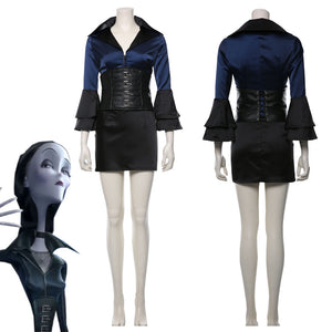 The Addams Family morticia Uniform Cosplay Costume