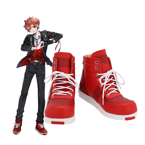 Twisted-Wonderland Ace Boots Costume Prop Halloween Carnival Party Shoes Cosplay Shoes