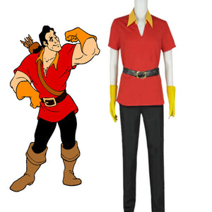 Beauty and the Beast 1991 Gaston Cosplay Costume