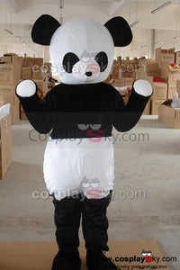 Cartoon Panda Mascot Costume Adult Size
