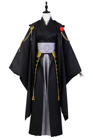 Touken Ranbu Tsurumaru Kuninaga (Black) Uniform Cosplay Costume