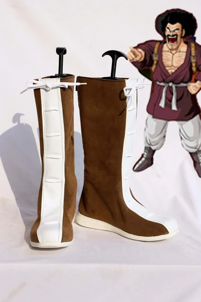 Dragon Ball Satan Cosplay Boots Shoes