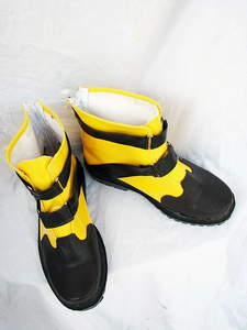 Final Fantasy X-2 shuyin Cosplay Boots Shoes