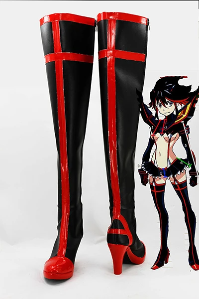 KILL la KILL Ryuko Matoi Cosplay Boots Shoes