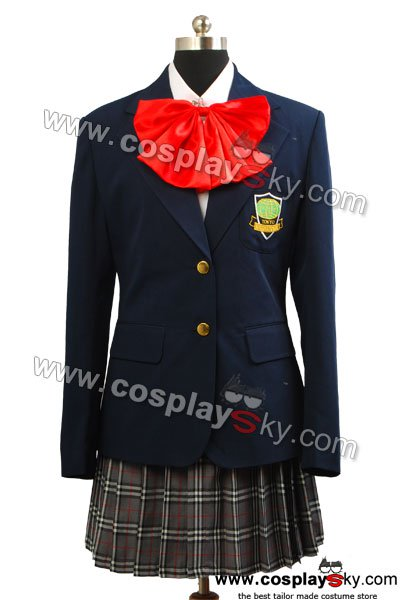 Kill Bill Gogo Yubari Uniform Cosplay Costume