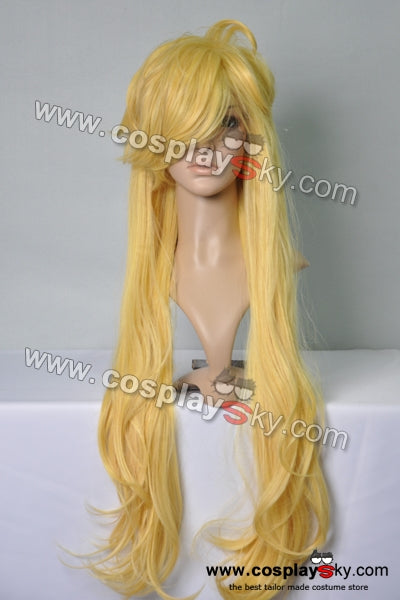 Panty and Stocking Yellow Blonde Long Cosplay Wig