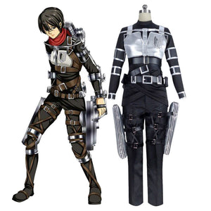 Attack on Titan Mikasa·Ackerman Halloween Carnival Suit Cosplay Costume