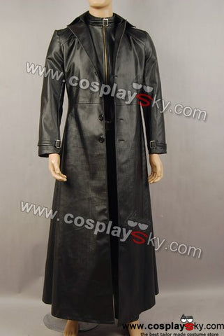 Resident Evil 5 Albert Wesker Coat Jacket Costume Cosplay