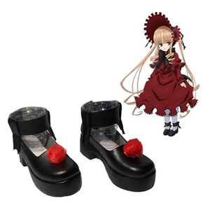 Rozen Maiden Black Shoes Custom Made
