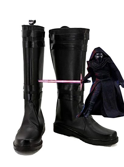 Star Wars: The Force Awakens Kylo Ren Cosplay Shoes
