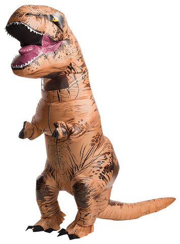 T Rex Inflatable Dinosaur Costume Adult Child Kid Blow Up Jurassic World Cosplay Suit