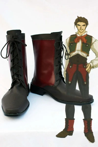 The Legend of Heroes VI Cassius Bright Cosplay Boots Shoes