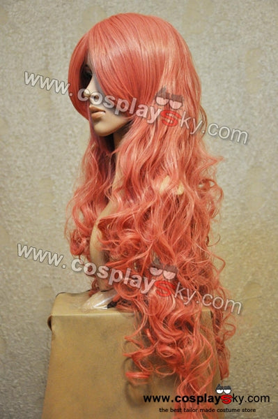 Vocaloid 2 Cosplay Megurine Luka Pink Long Wig