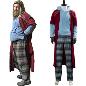 Avengers Endgame Fat Thor Outfit Cosplay Costume (Able to Arrive before Halloween)