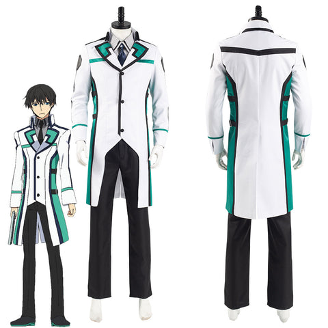 The Irregular at Magic High School Tatsuya Shiba Uniform Outfits Halloween Carnival Suit Cosplay Costume