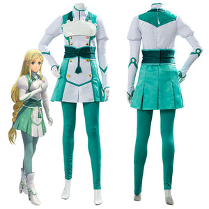 Project Sakura War Claris Battle Uniform Outfit Cosplay Costume