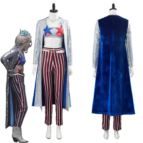 Birds of Prey Harley Quinn Suit Cosplay Costume
