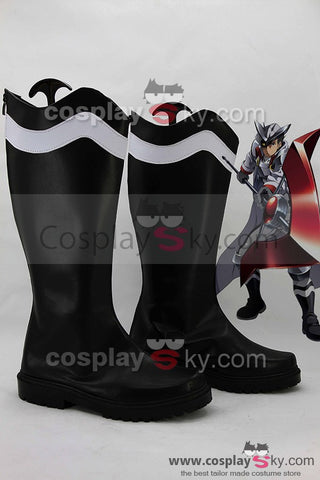 Akame ga KILL! Night Raid Bulat Black Boots Cosplay Shoes