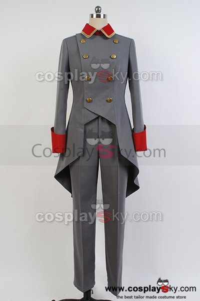 Aldnoah.Zero Martian Knight Trillram Uniform Cosplay Costume