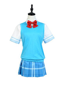 And You Thought There Is Never A Girl Online? Ako Tamaki School Uniform Cosplay Costume