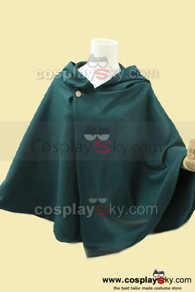 Attack on Titan Shingeki no Kyojin Mantle Cloak Cape Costume