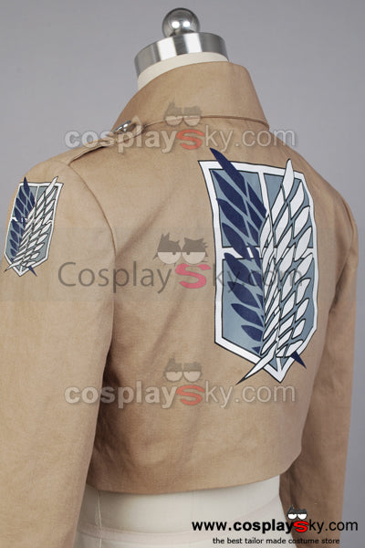 Attack on Titan Shingeki no Kyojin Recon Corps Scouting Legion Jacket Costume