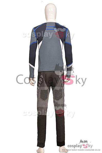 Avengers: Age of Ultron Movie Quicksilver Cosplay Costume Full Set