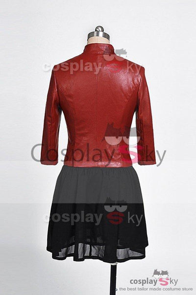 Avengers: Age of Ultron Movie Scarlet Witch Cosplay Costume