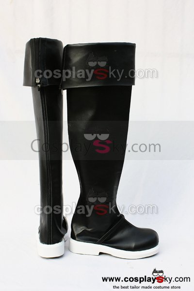 Axis Power Hetalia Cosplay Black Boots Shoes